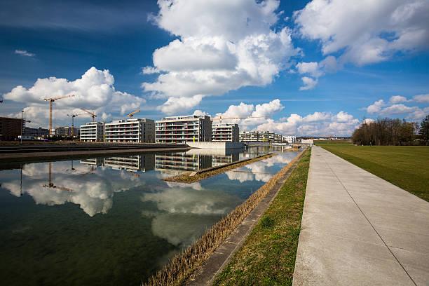 Projet hébergement résidentiel moderne dans une ville - Photo