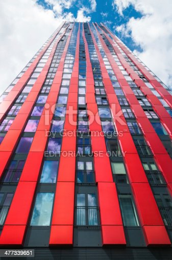 istock Modern residential tower on august 7, 2011 477339651