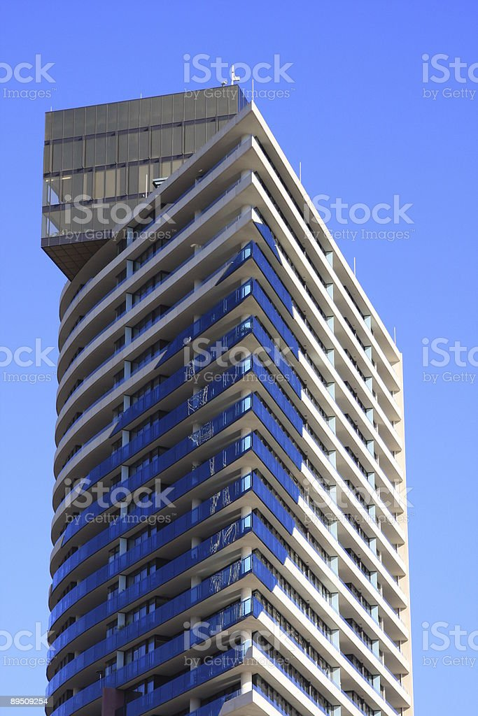 Modern Residential Tower royalty-free stock photo