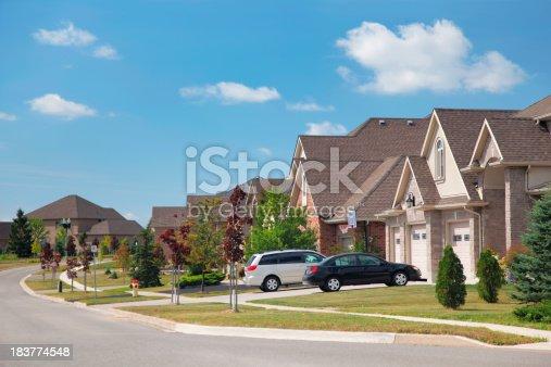 istock Modern Residential Urban Sprawl 183774548