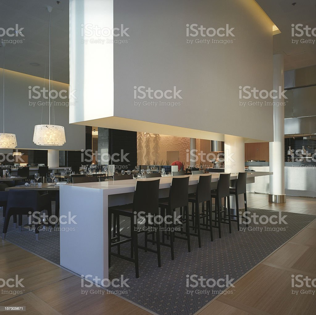 Modern Restaurant Design Stock Photo Download Image Now Istock