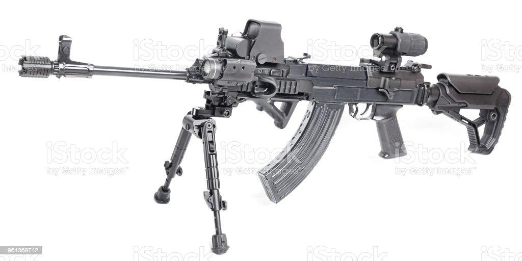 Moderne geweer - Royalty-free Arm - lichaamsdeel Stockfoto
