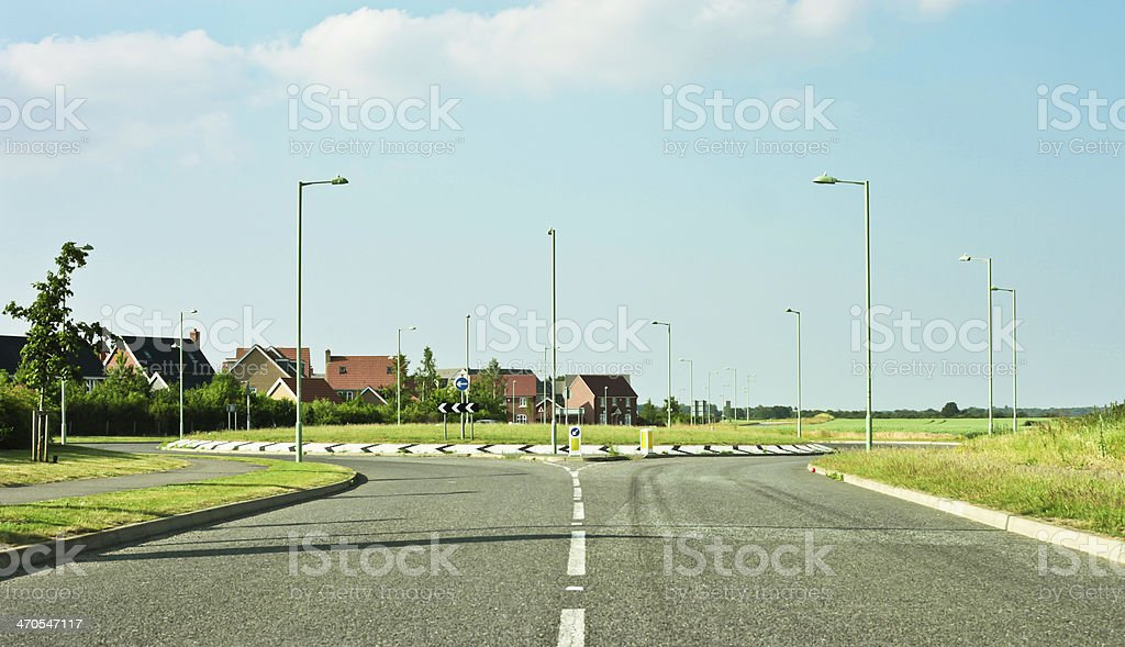 Modern road stock photo