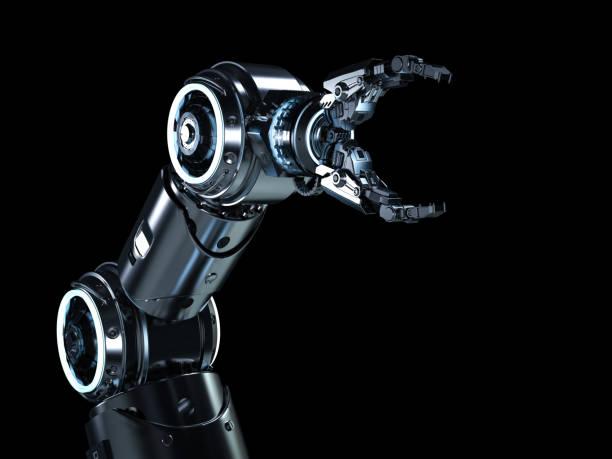 Moderne Roboter-arm – Foto