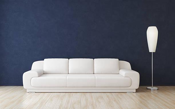 Moderna habitación Interior - foto de stock