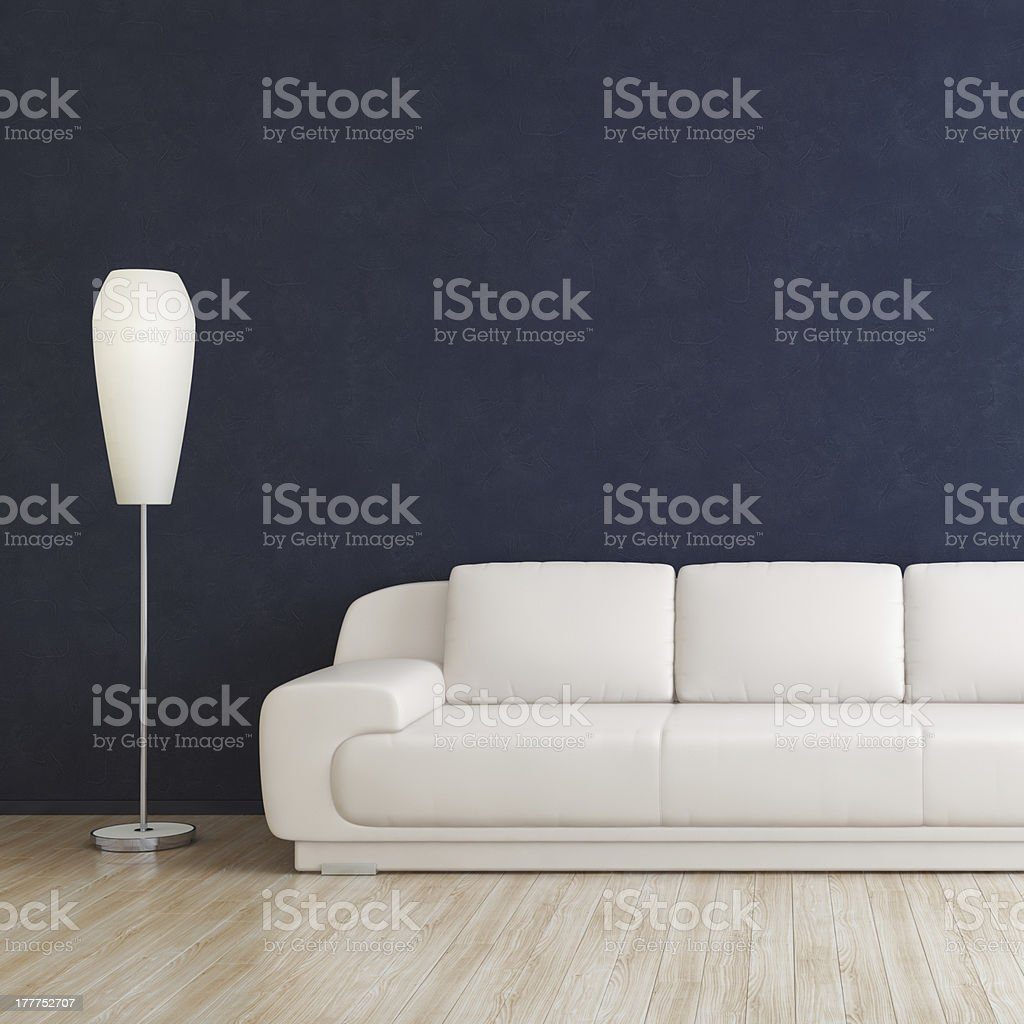 Modern Room Interior stock photo