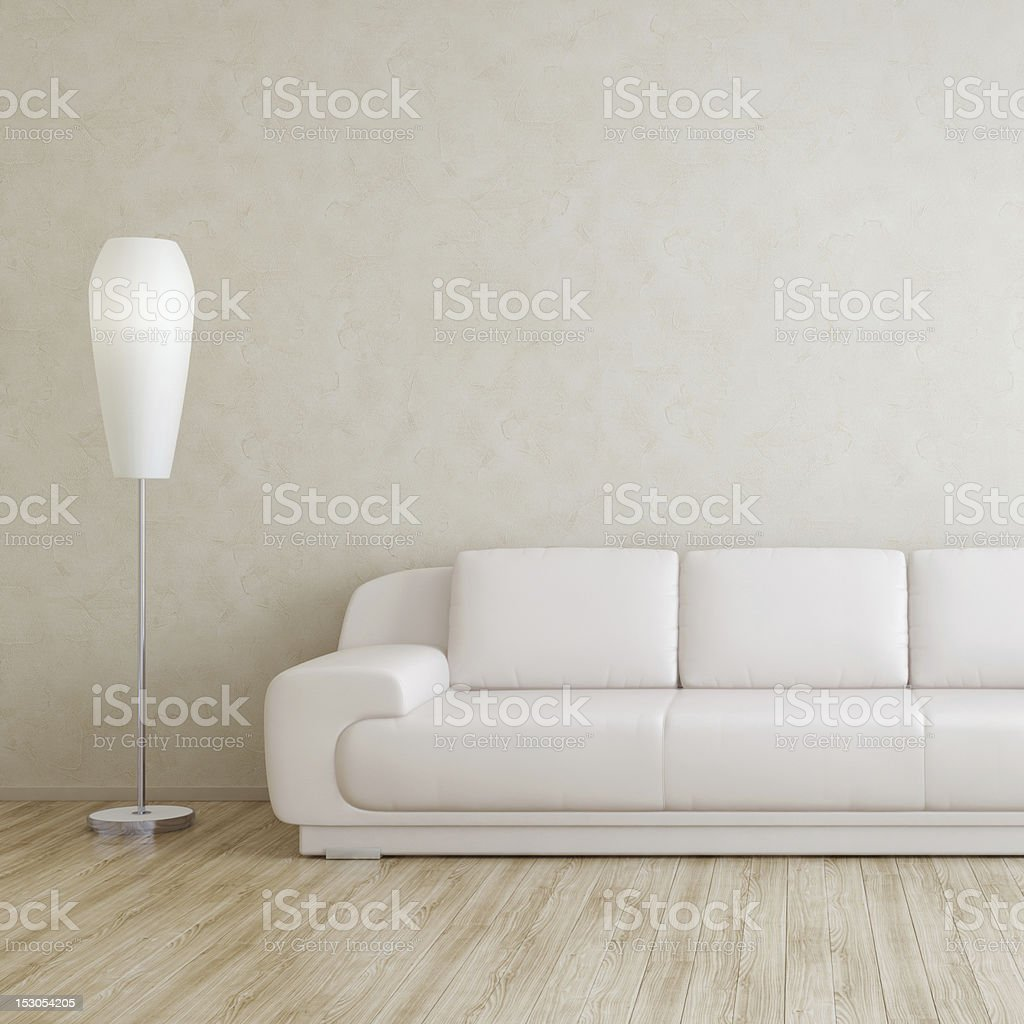 Modern Room Interior Wall stock photo