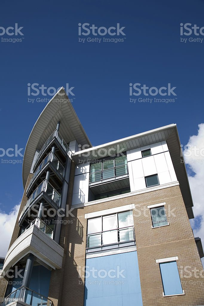 Modern Rooms with a View royalty-free stock photo