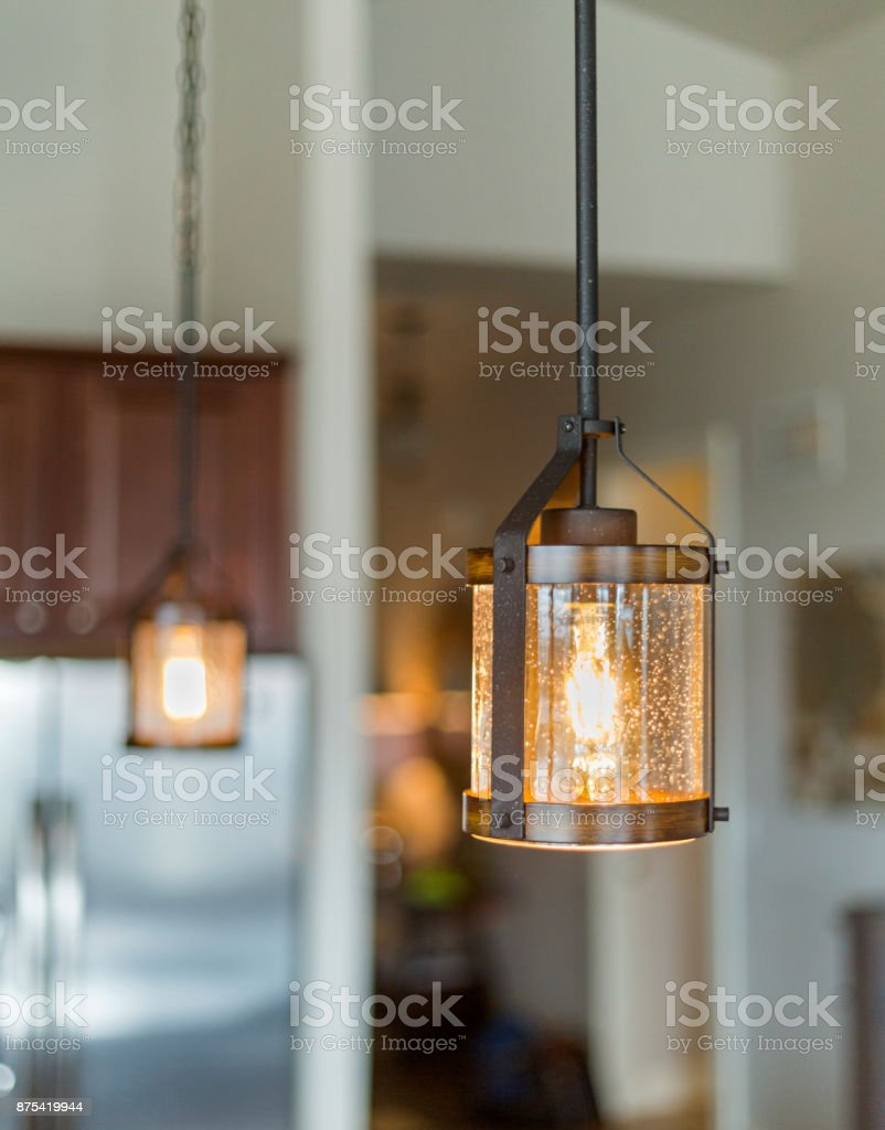 Modern Rustic Pendant Light Stock Photo Download Image Now Istock