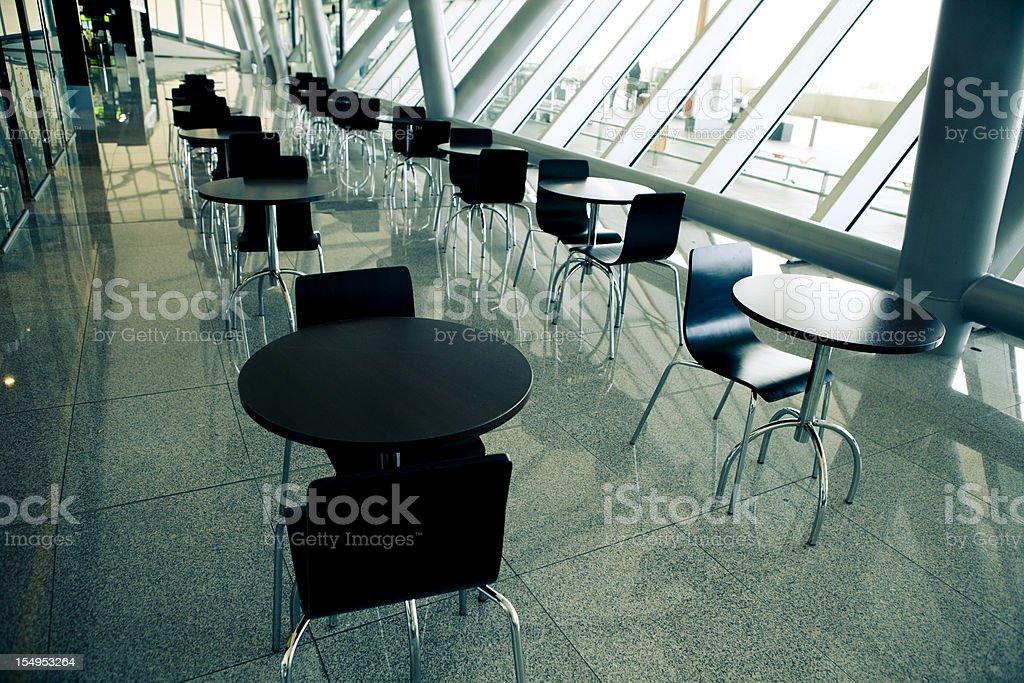 Modern saloon, empty. royalty-free stock photo