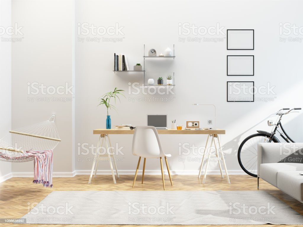 モダンな北欧インテリア デザイン ホーム オフィス アメリカ合衆国のストックフォトや画像を多数ご用意 Istock
