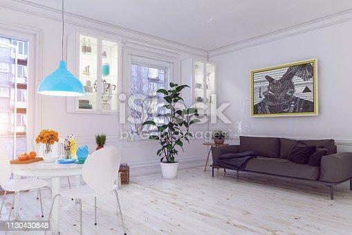 1095381860istockphoto modern scandinavian living room design. 1130430848