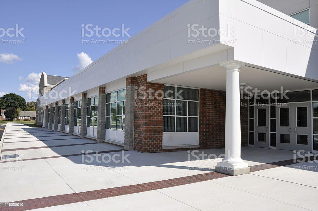 Moderne Schule Eingang – Foto