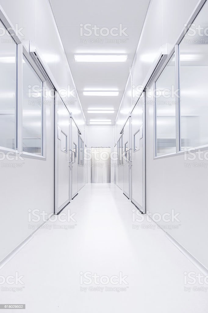 modern science lab room opened door with lighting from outside royalty-free stock photo  sc 1 st  iStock & Modern Science Lab Room Opened Door With Lighting From Outside ... azcodes.com