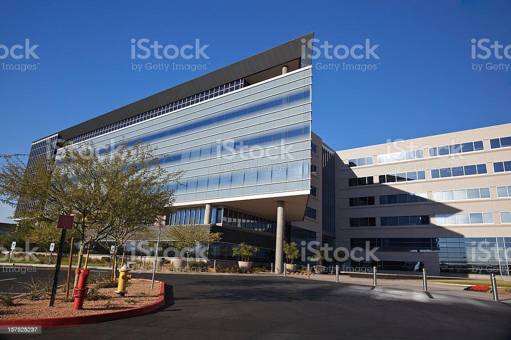 Modern Scottsdale Medical Business Building stock photo