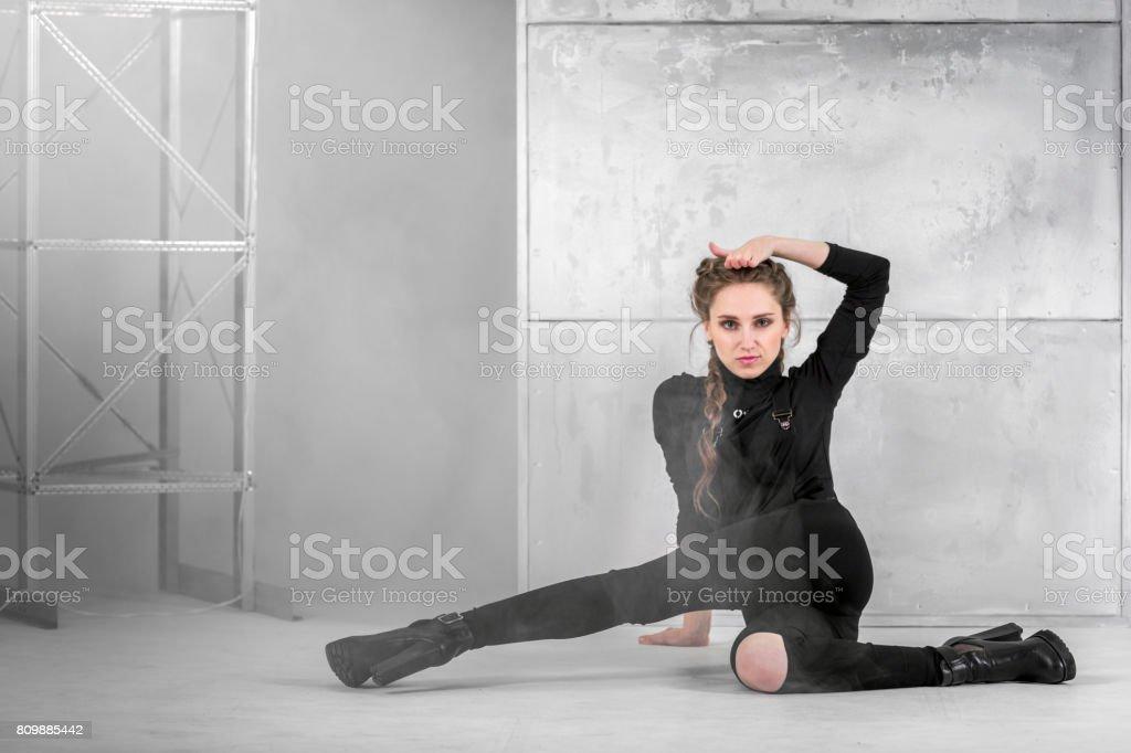 Modern Seductive Dance stock photo