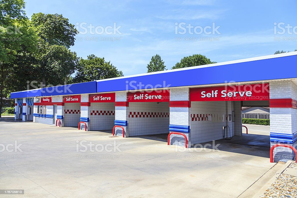 Modern Self Serve Car Wash Stock Photo Download Image Now Istock