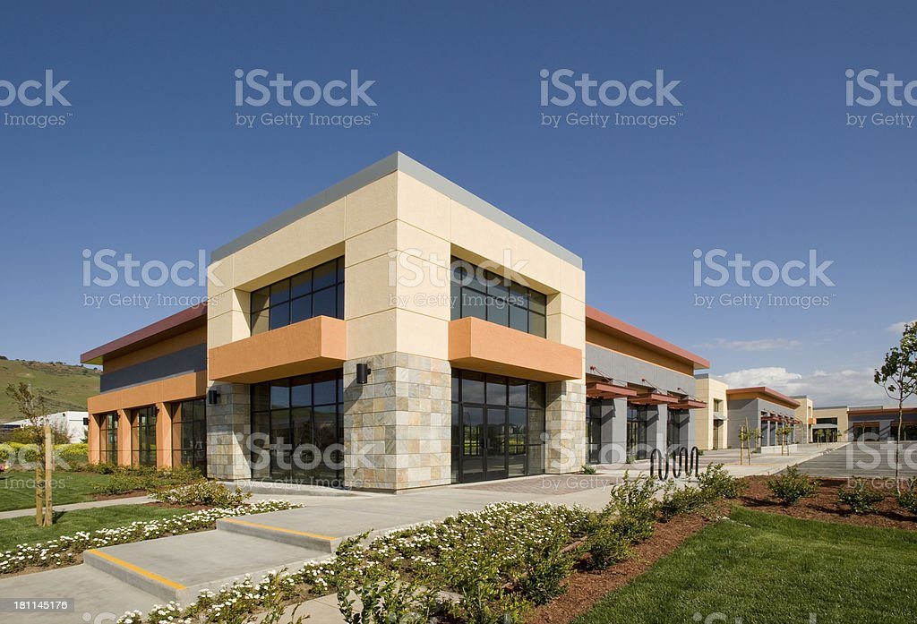 sunny day home office. Modern Shopping Center On A Sunny Day Royalty-free Stock Photo Home Office