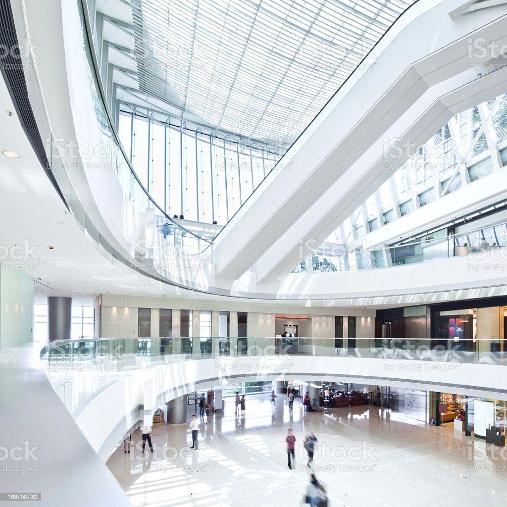 Modern Shopping Mall royalty-free stock photo