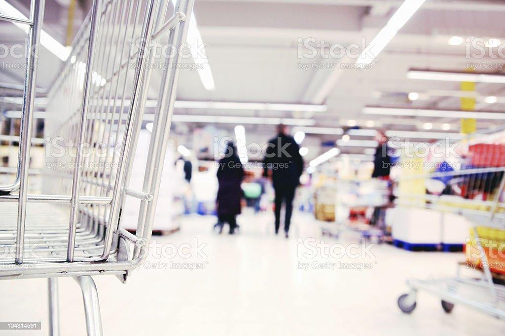 Modern shopping royalty-free stock photo