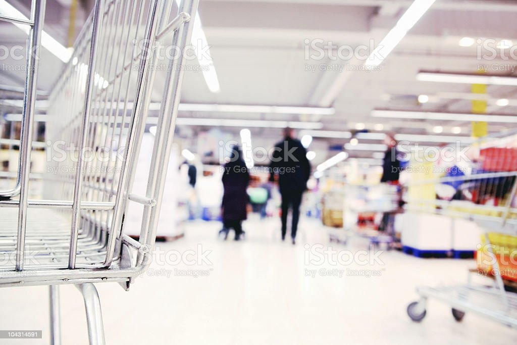 Modern shopping stock photo