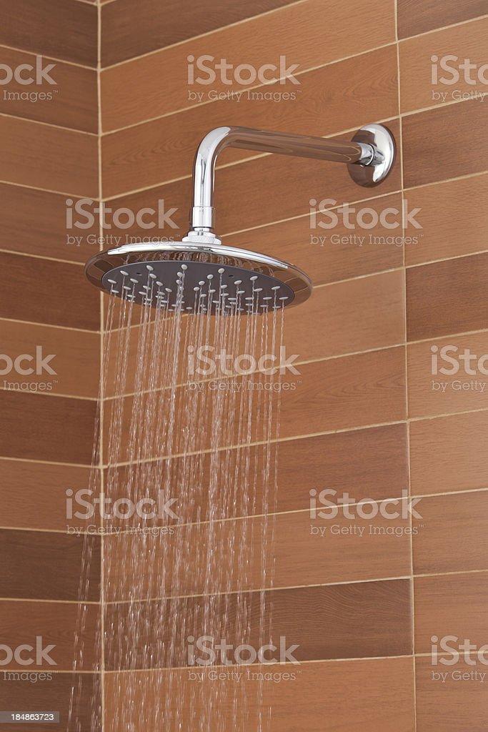Modern Shower Head stock photo