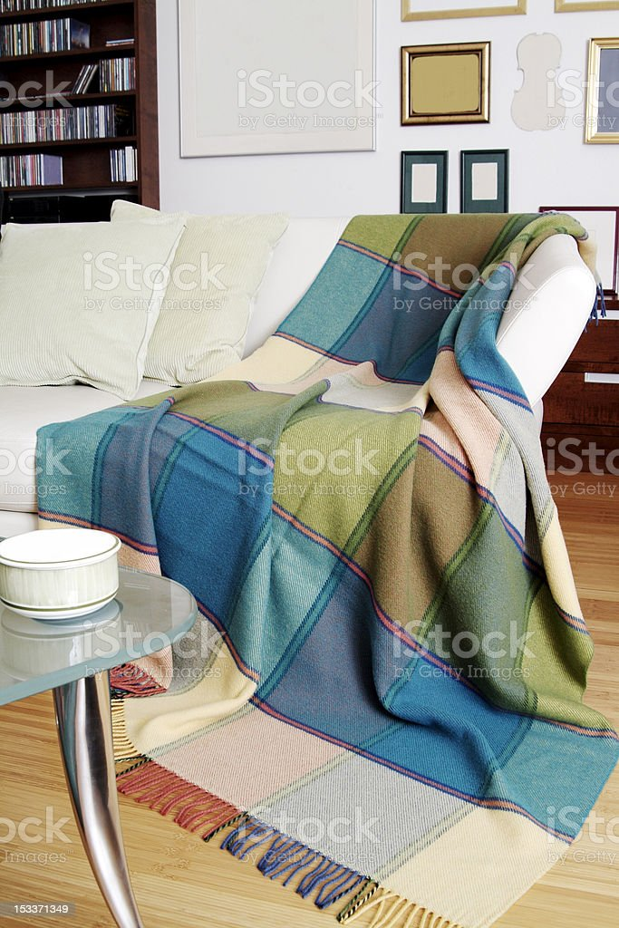 Modern sitting room royalty-free stock photo