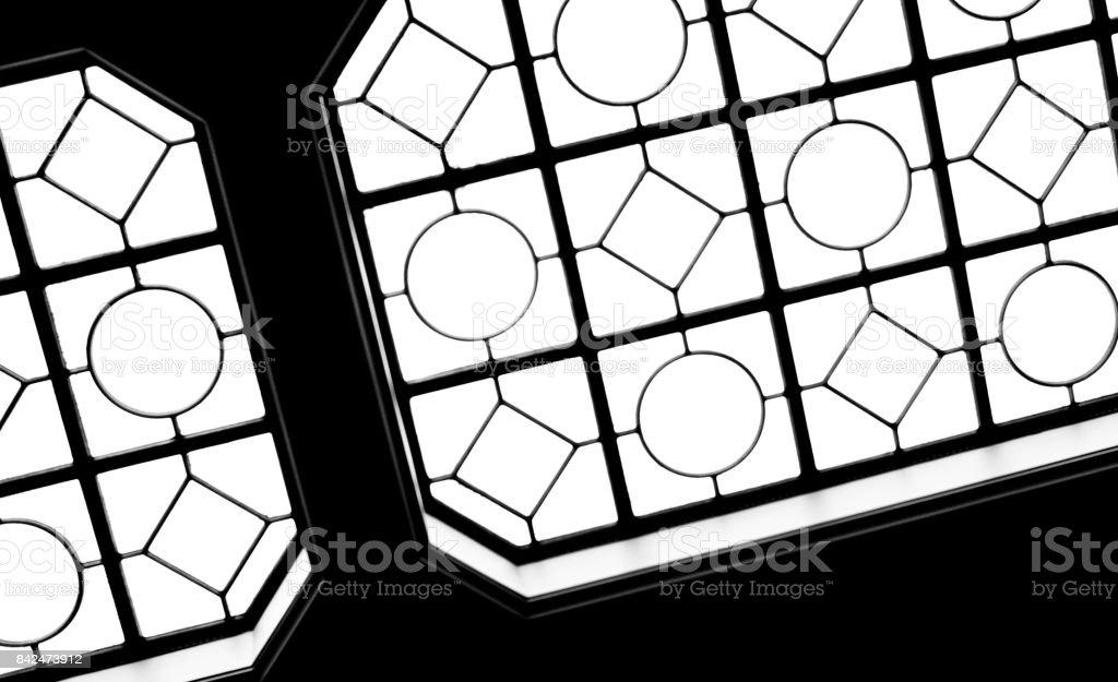 modern skylight stock photo