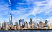 istock Modern Skyline of City of Manhattan 606229064