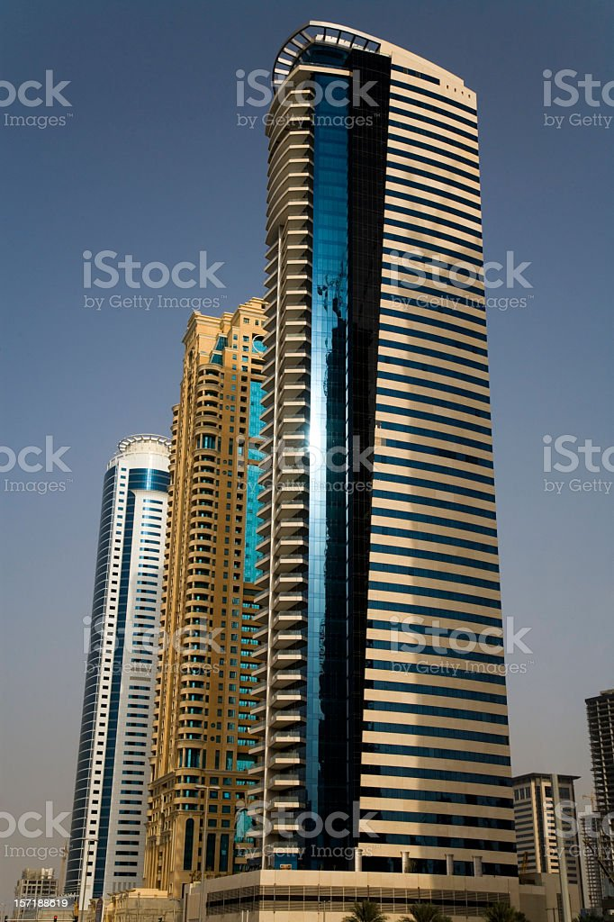 modern skyscraper metropolis series V royalty-free stock photo