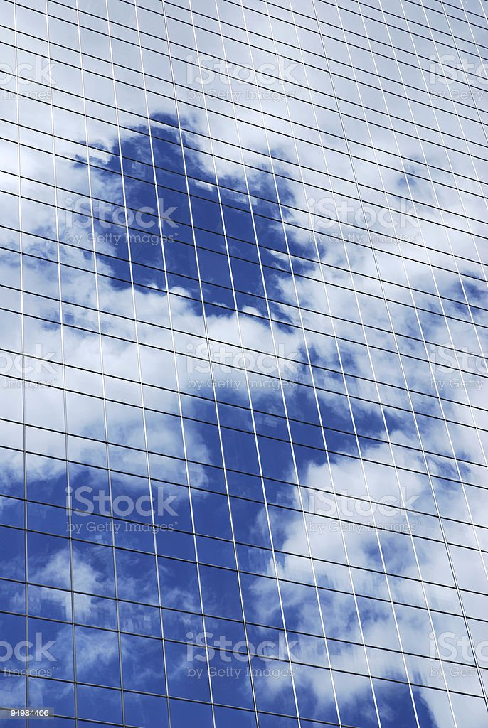 Modern skyscraper stock photo
