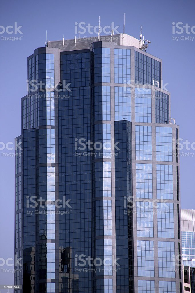 Modern skyscraper royalty-free stock photo