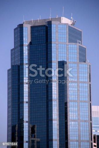 Modern Skyscraper Stock Photo & More Pictures of Alberta