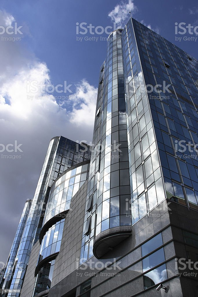Modern skyscraper royalty-free stock photo