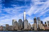 istock Modern Skyscrapers of Manhattan, New York 605751812