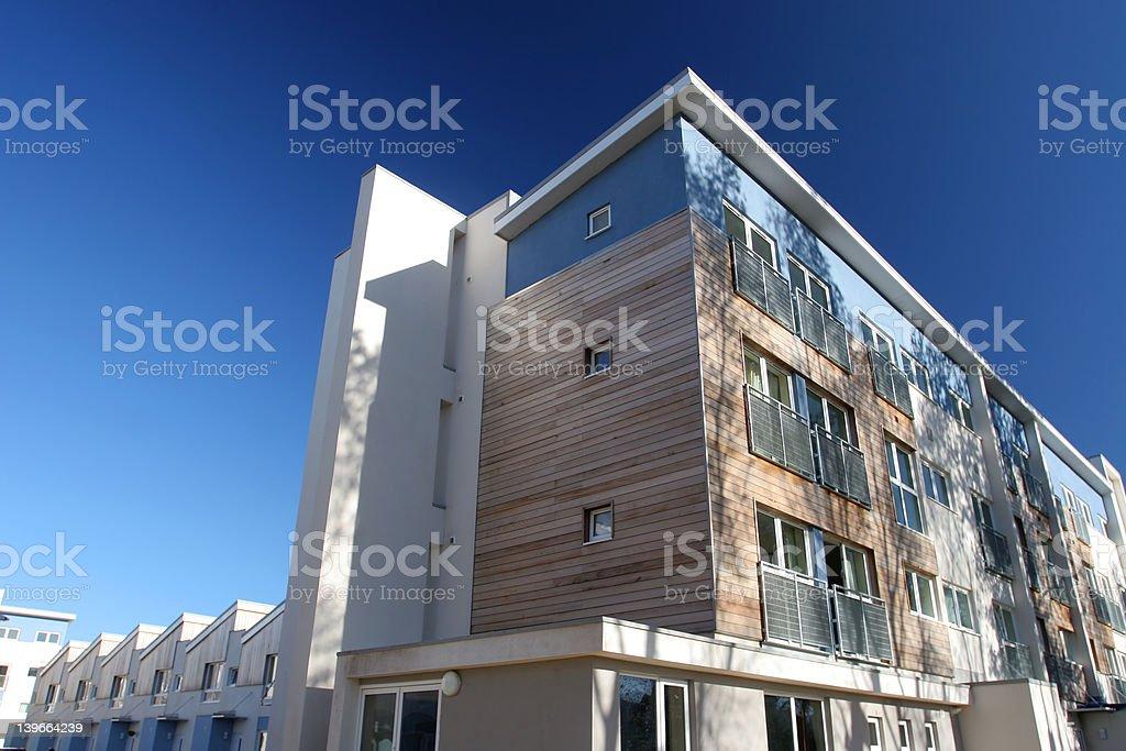 Modern Social Housing royalty-free stock photo