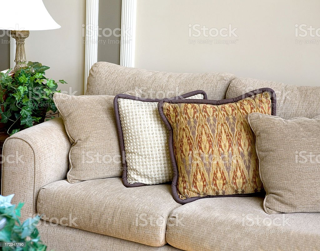 Modern Sofa in New Home Interior royalty-free stock photo
