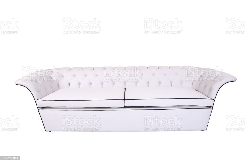 Prime Modern Sofa Isolated On White Background Stock Photo Download Image Now Gamerscity Chair Design For Home Gamerscityorg