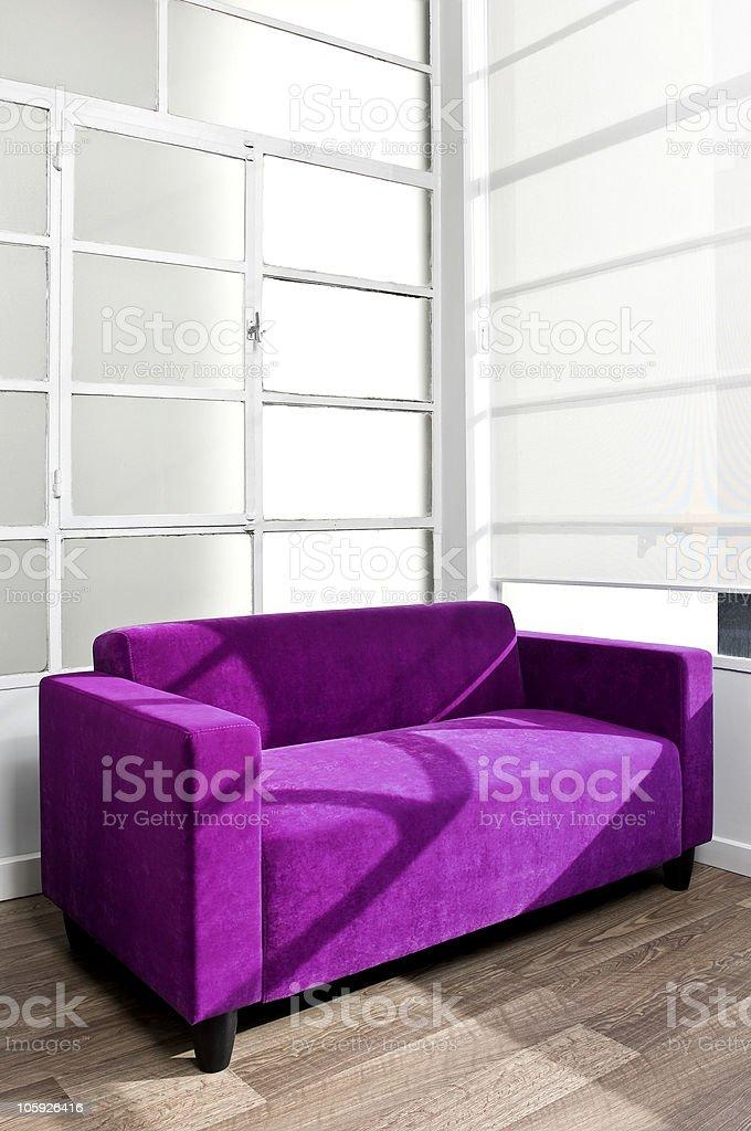Modern sofa royalty-free stock photo