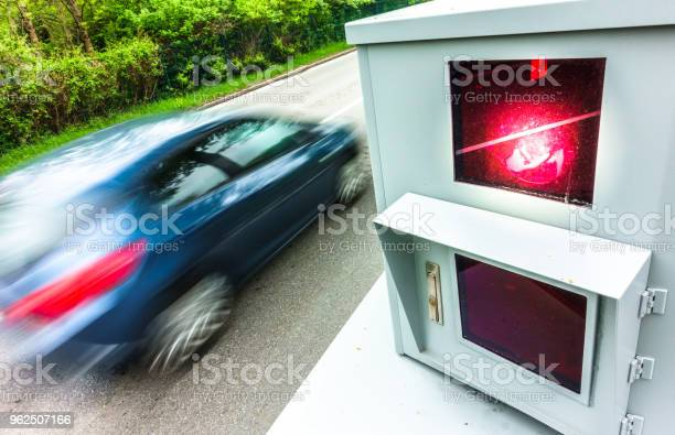 Foto de Armadilha De Velocidade Moderna e mais fotos de stock de Alemanha