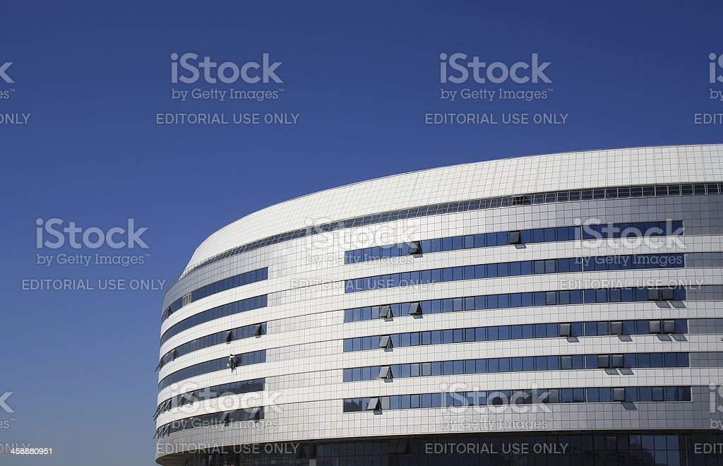 Modern sports complex royalty-free stock photo
