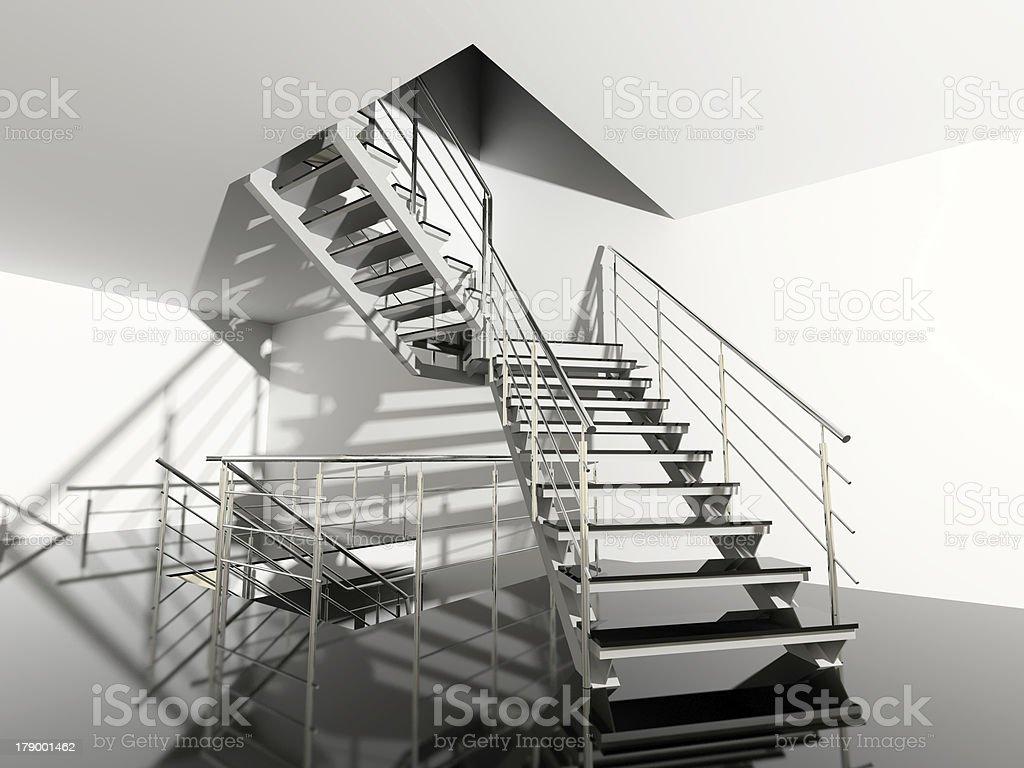 modern stair royalty-free stock photo