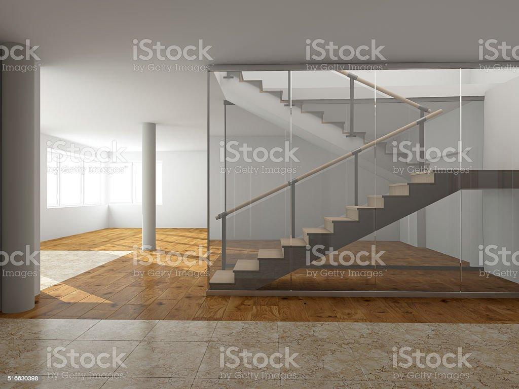 Moderne Treppe Abbildung – Foto