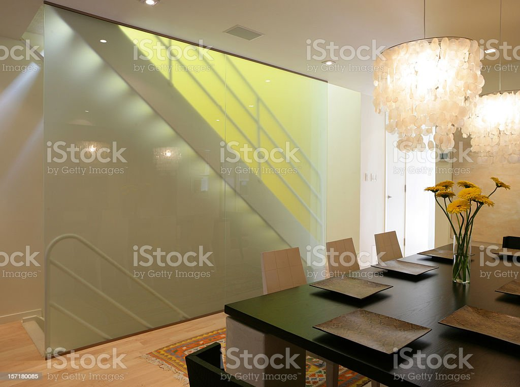Modern stairs royalty-free stock photo