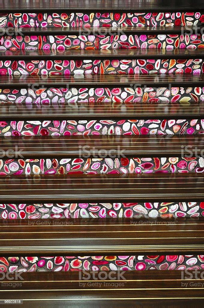 modern stairway royalty-free stock photo