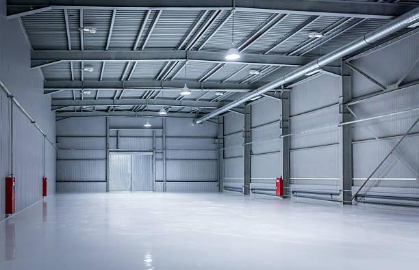 storehouse moderne, arrière-plan de l'industrie - Photo