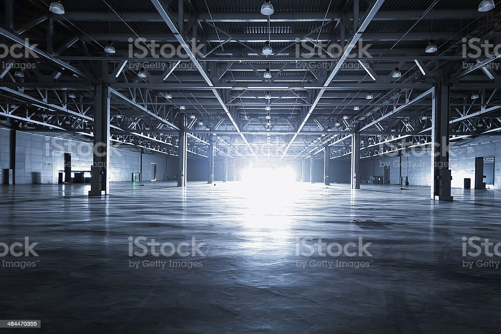 Moderna storehouse - foto de stock