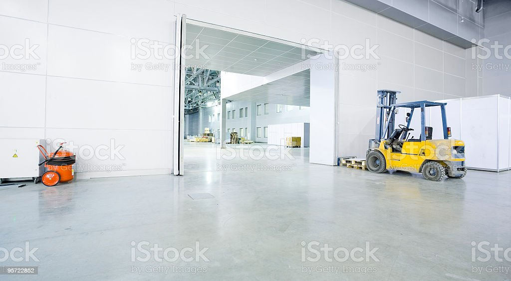 modern storehouse royalty-free stock photo