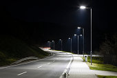 transportation, night, illumination, road