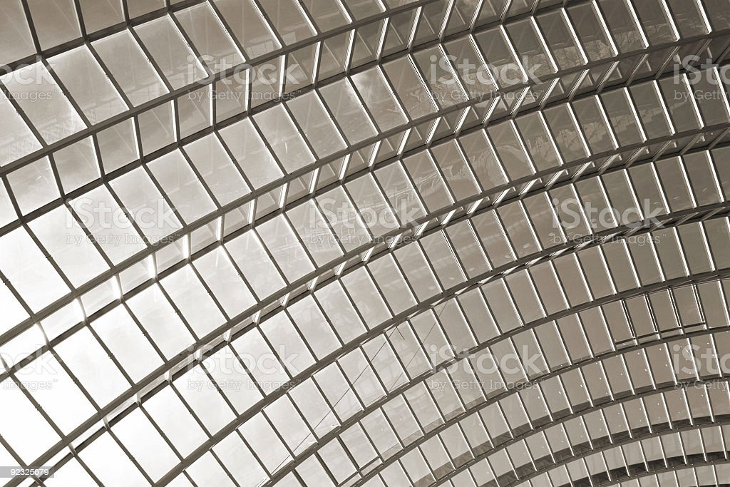 modern structure 2 royalty-free stock photo